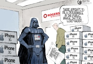 Are you getting the iPhone 3G from Rogers?